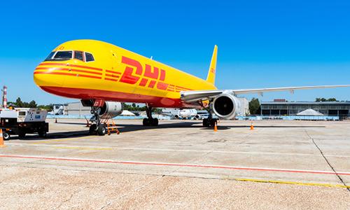 backorder express DHL-jet (image)