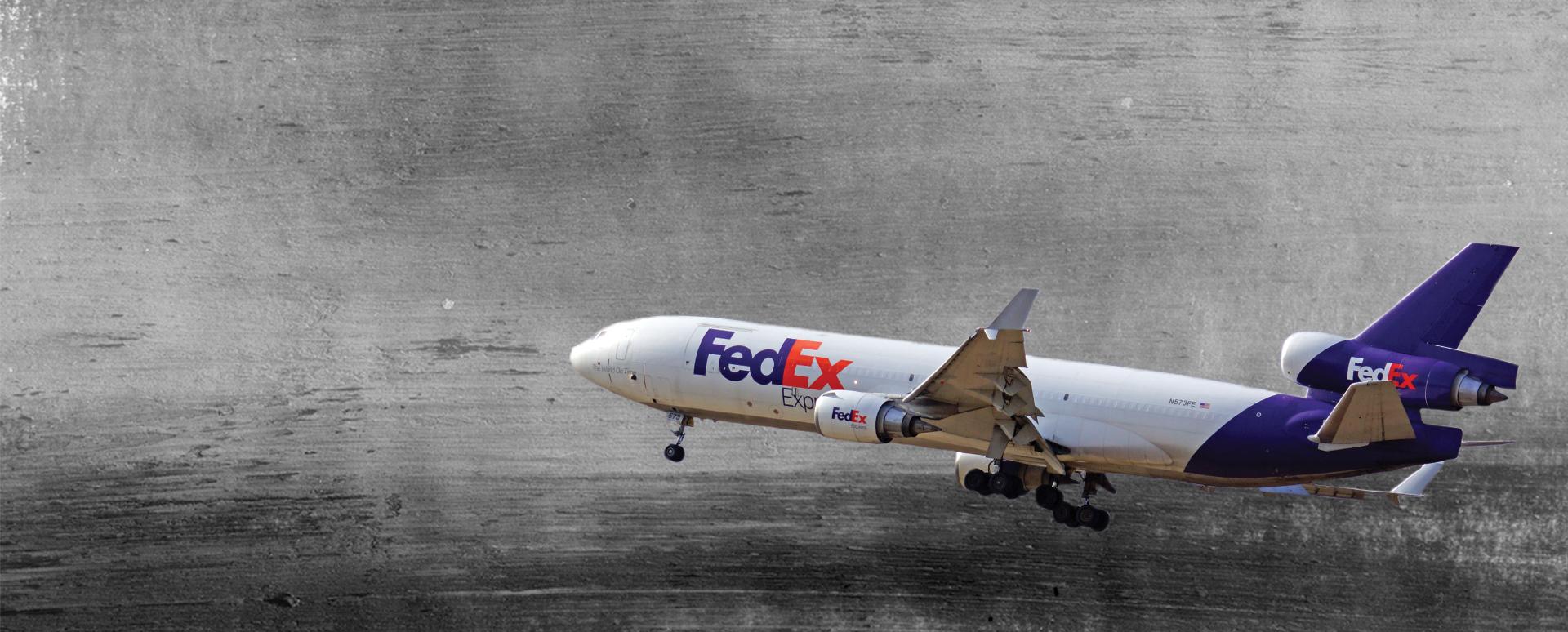Exoparts inner-page slider: FedEx (image)
